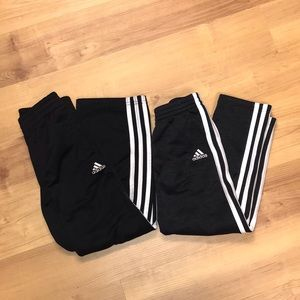 Boys Adidas Track/Sweat Pants Bundle-Size 7